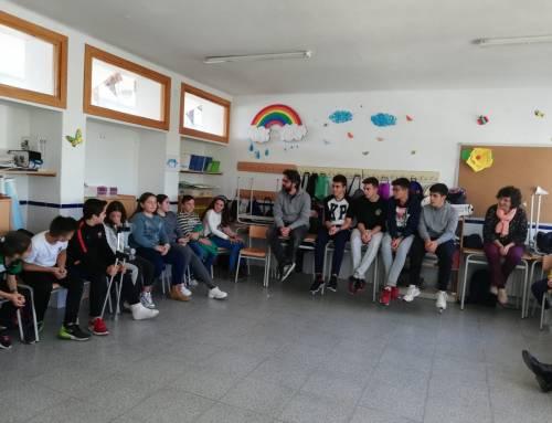 Nuestros alumnos imparten un taller sobre igualdad en el CEIP Virgen del Pilar