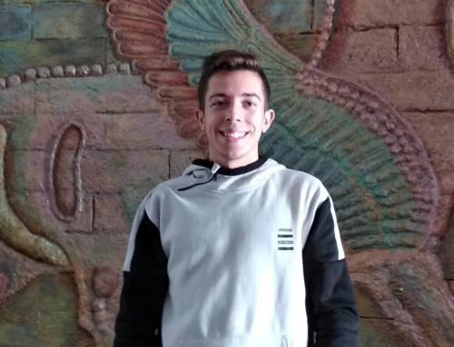 Marcos González Cruz, primer premio del concurso de ortografía