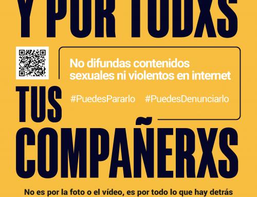 NO CONTRIBUYAS A LA DIFUSIÓN DE CONTENIDOS DEGRADANTES