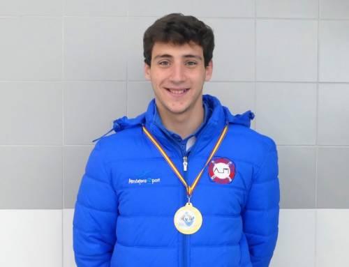 Carlos Nieto, campeón de España