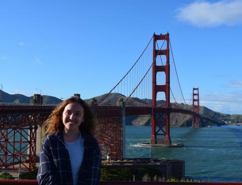 Ya tenemos aquí a Guadalupe Santos, tras un año de estudios en EEUU