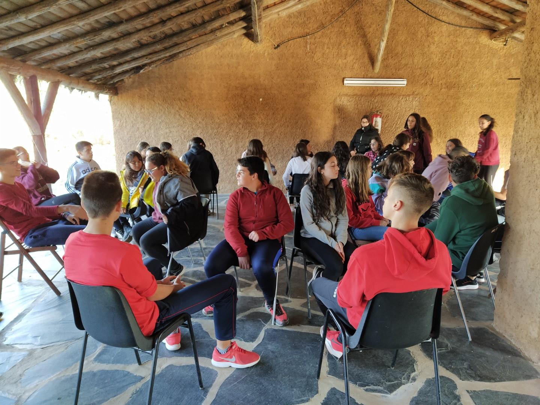 Los «alumnos ayudantes» formándose en Alburquerque