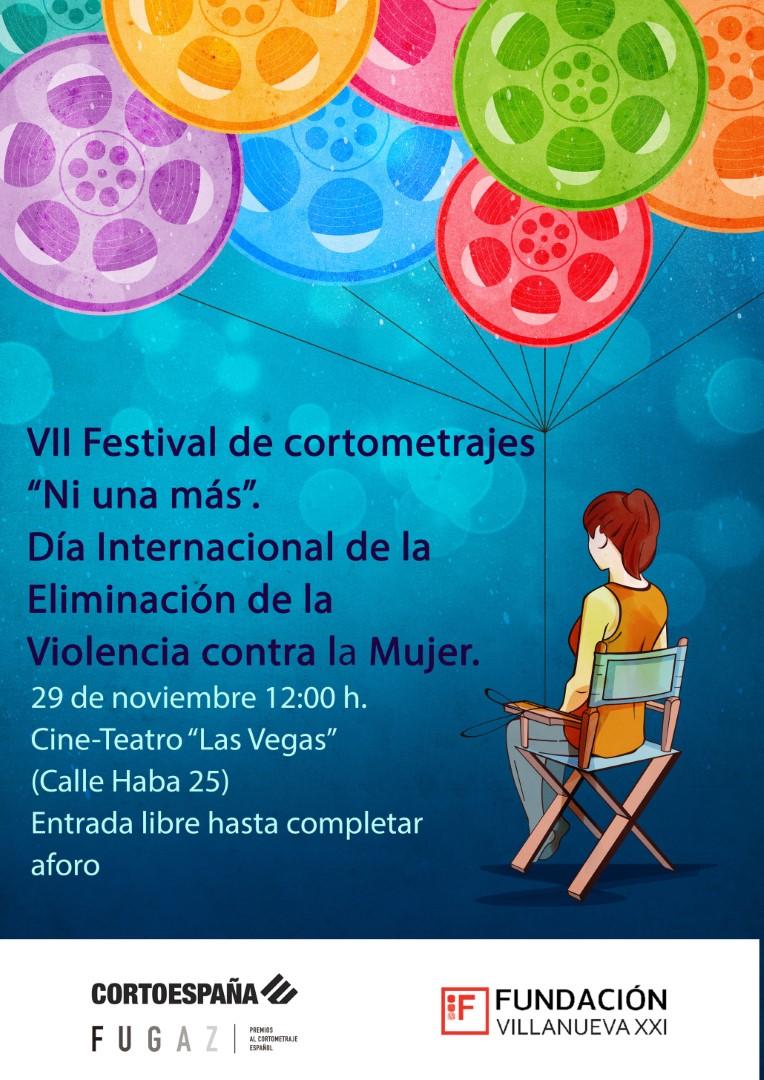 """Participamos en el festival de cortos """"ni una más"""""""