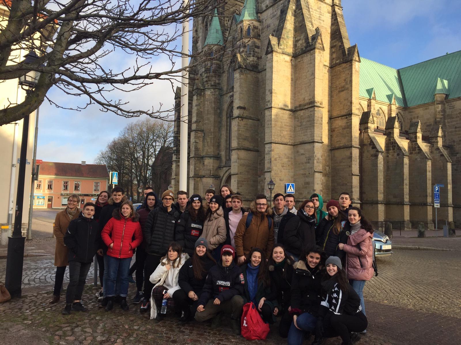 Los participantes en el intercambio con Skara (Suecia) ya están de vuelta