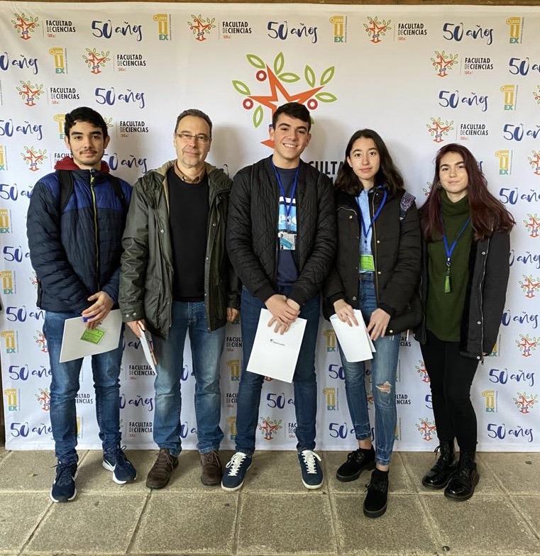 Cuatro alumnos de 2º de bachillerato participan en la Olimpiada de Biología