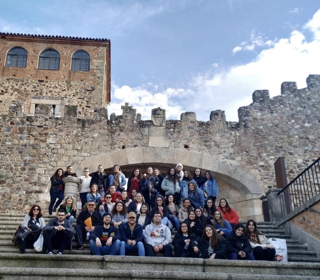 Visita a Cáceres de los alumnos del Ciclo Formativo de Educación Infantil