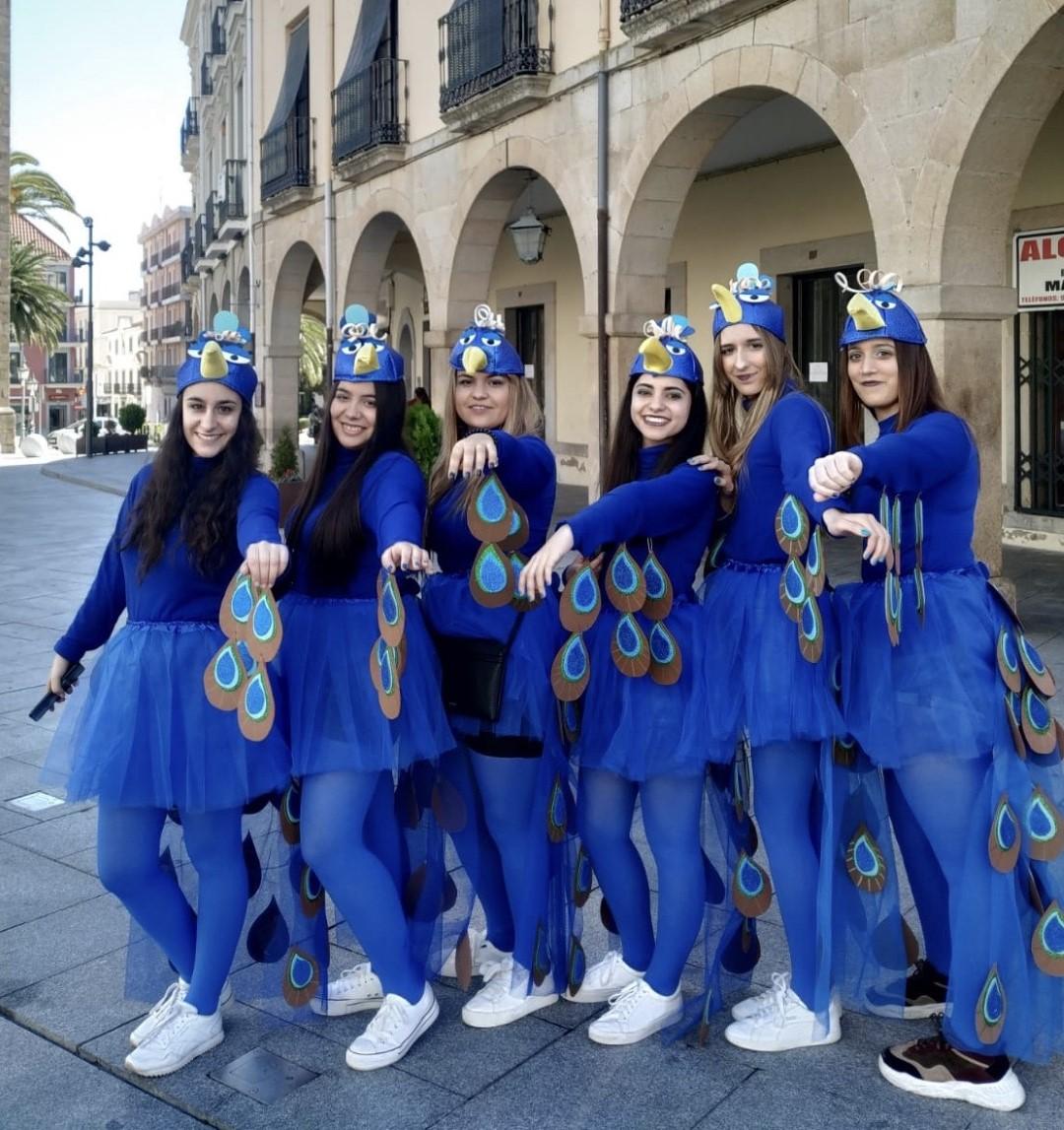 Alumnos del Ciclo Formativo de Educación Infantil de Carnaval