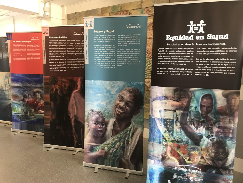 Exposición «Equidad en salud»