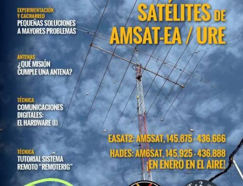El I.E.S. Pedro de Valdivia en la revista «Radioaficionados»